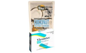 """Kokosų grietinei gaminti – rinkinys (""""VIVOMIXX"""" 450 ir """"KIER"""")"""
